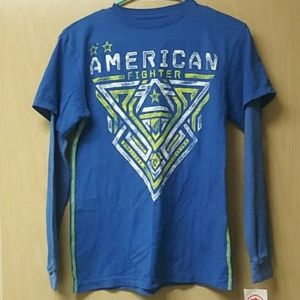 American fighter long sleeve shirt new with tags